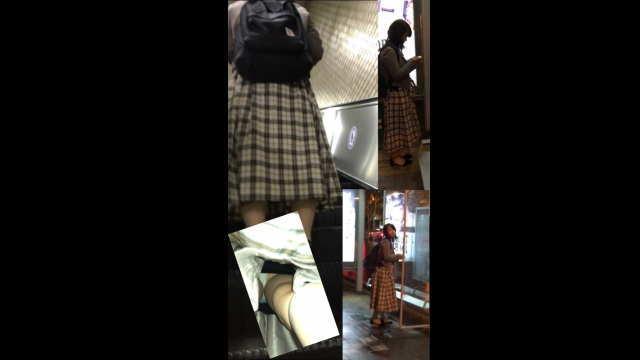 逆さ撮り<JCさんJDさんOLさん>スカートの中撮らせて頂きました。vol2