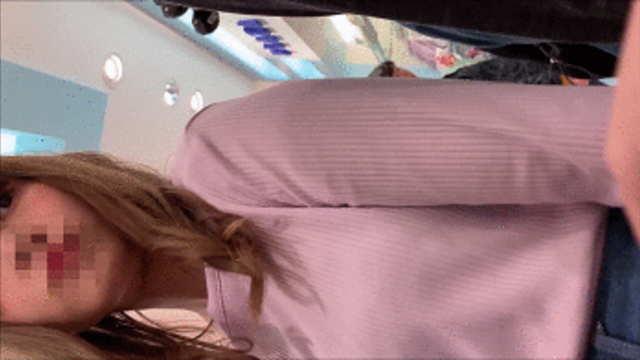 【おっぱい痴漢】乃木坂46にいそうな超美女のフワフワおっぱいを何度もモミモミ!!