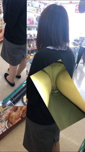 逆さ撮り(ミニスカ奥様バレ睨みあり)学生さんからOL、奥様達のスカートの中撮らせて頂きました。vol.8