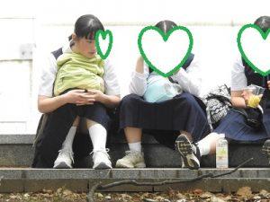 素朴で可愛い!!当然白パン!!(FHD)お座りCちゃん!!大変です!!パンツが見えてますよ特別編8