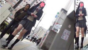 【制服JK】さかさんぽ No.040 完璧なスタイルを持つモデルJKは、お尻もパンツも完璧だった!【顔出し】