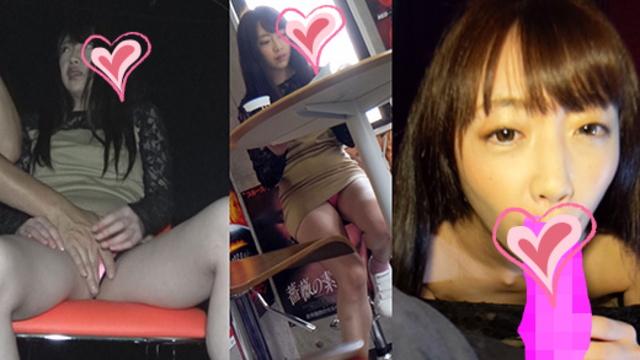 【痴漢映画館】女子アナ級にカワイイ子がチカンされ勃起チンポを即尺し潮吹きながらハメられる