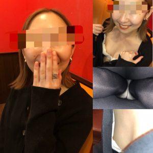 【リア友盗撮バレ!】カラオケで逆さ撮り・胸チラ盗撮したらバレちゃったけど、、、!