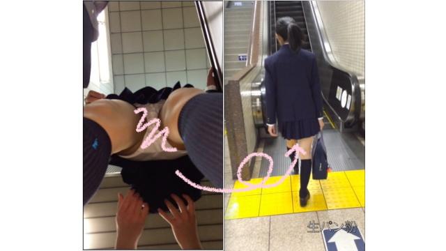 制服女子をストーキング vol.1