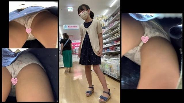 炉利系女子逆さ盗撮風VOL.5