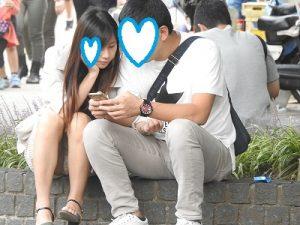 ラッキー!!アイドル顔の超~美女(FHD)NO11:おっぴろげの綺麗なお姉さん!!パンティーが見えすぎです!!(笑)