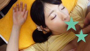 (眠り姫vs整体師)肉棒に飢えた人妻さんに痴漢施術(睡眠姦)