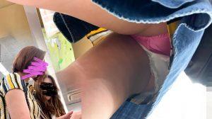 #11 モデル級激カワ女子に声かけ。鉄壁のキュロットから無防備な純白Pが丸見え