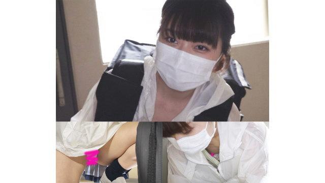 【純白P×スジマン】見せ付けてるのかと思う程の撮れ高w激カワJDの両乳首GET!
