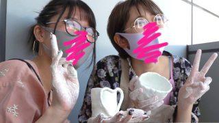 【胸チラ】#24 計3人・コロナ禍の女子旅特集!卒業旅行の仲良し2人と爆乳ちゃん