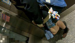 登校途中エレベーター7日分。+階段