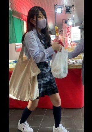【撮影バレ06】ミステリアスJK