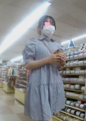 ワンピース女子大生(?)編 禁断の逆さ撮りシーズン5 vol4