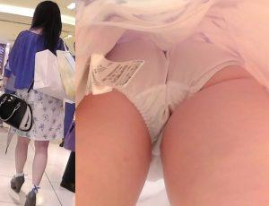 顔つき逆さ撮り11(私服のお姉さん編)