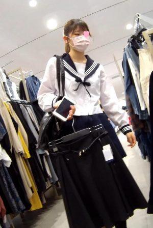 ミニスカセーラー服JK様編 禁断の逆さ撮りシーズン5 指定便4